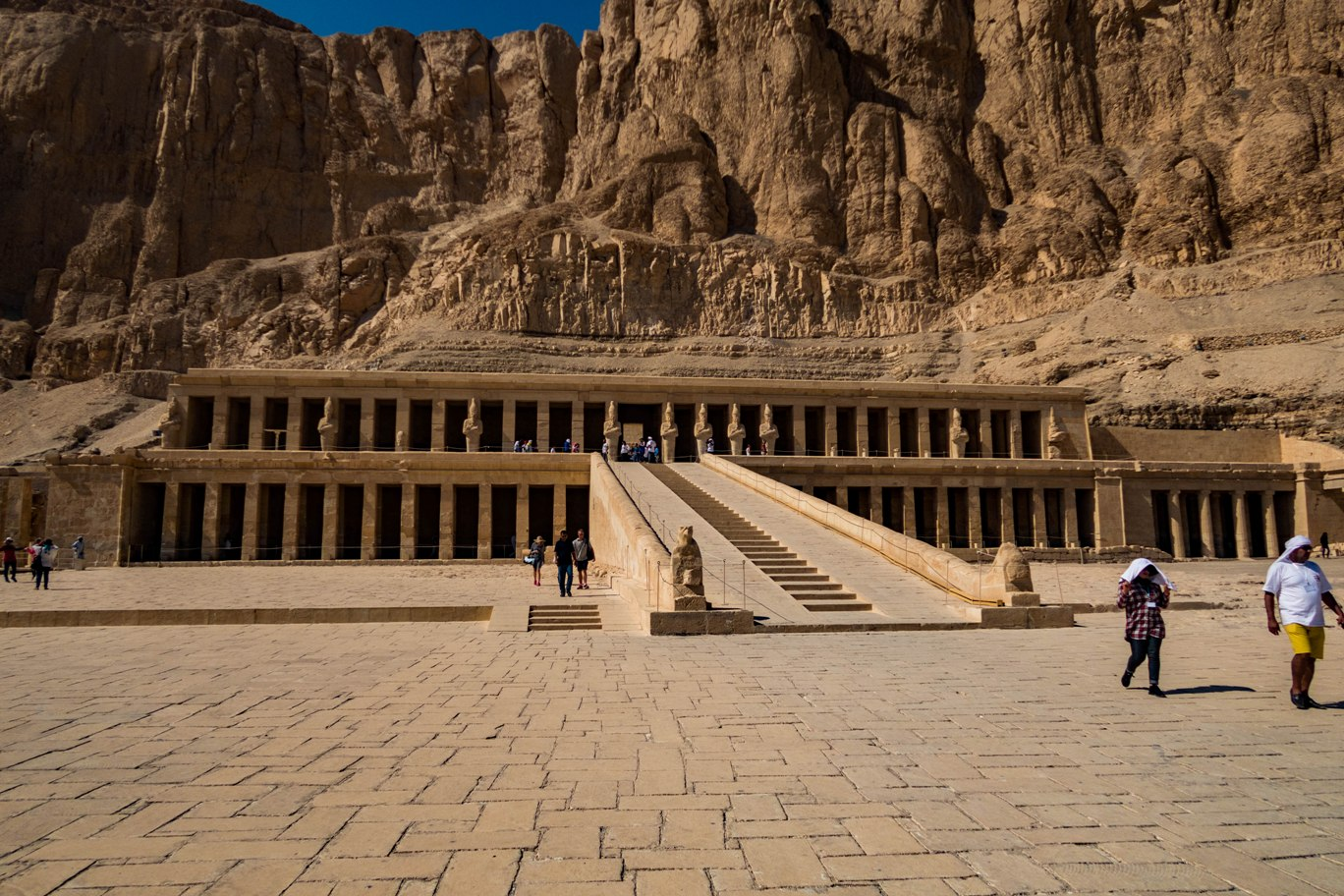 Temple of Hatshepsut El-Deir El-Bahary in Luxor.