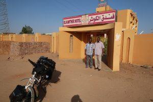 Hotel Elkawther in Shiendi Sudan.