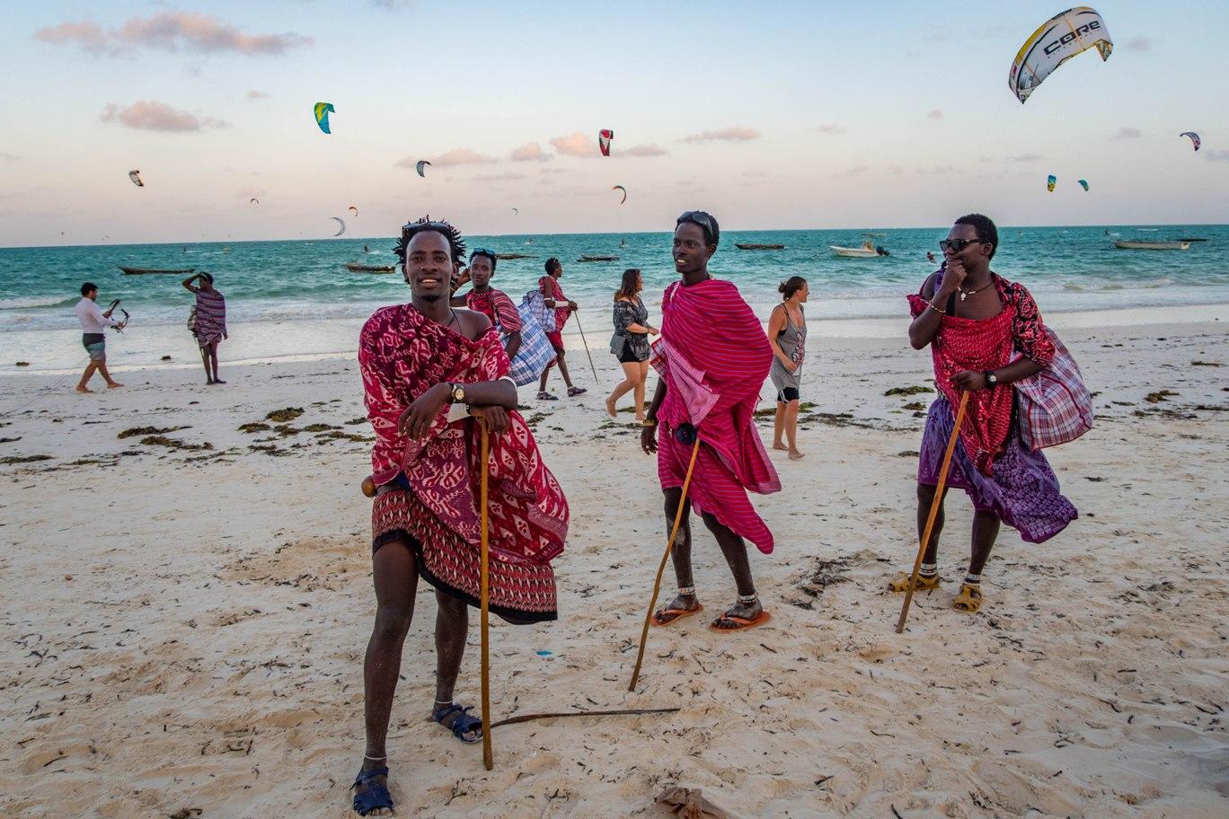 Paje beach in Zanzibar, the second most beautifull here.