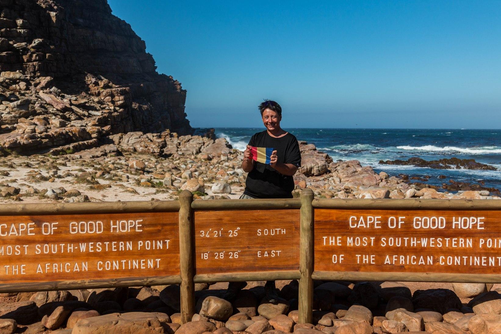 Capul bunei sperante pe bicicleta in africa de sud.